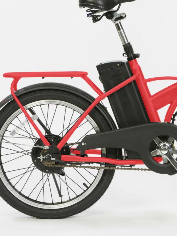 Bateria bici eléctrica plegable