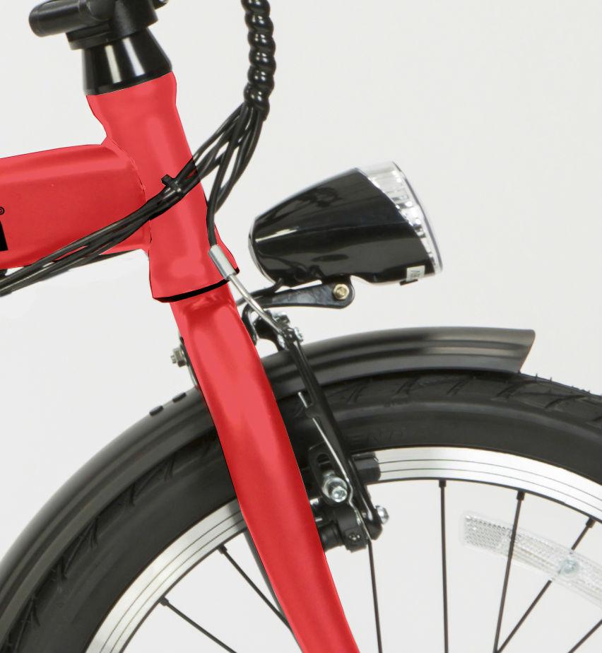 comprar bicleta eléctrica plegable ligera