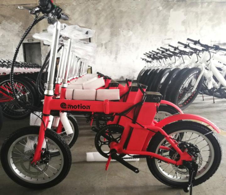 Biciletas eléctricas Urban e-Motion almacén