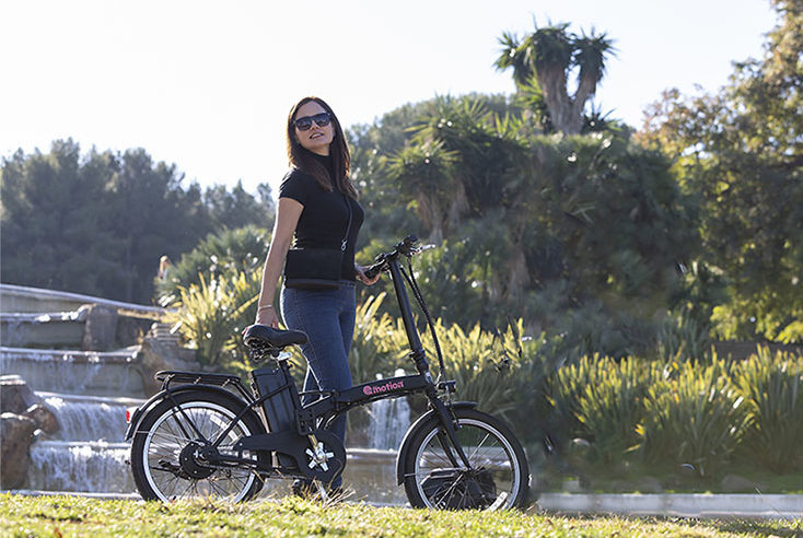 bici eléctrica de paseo eléctrica Urban motion