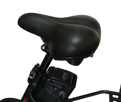 sillín de bicicleta eléctrica
