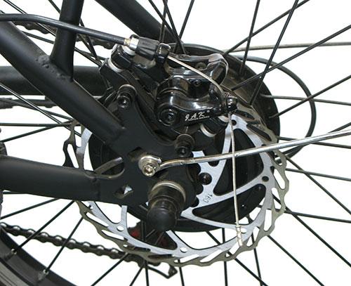 bicicleta eléctrica con cambio de marchas