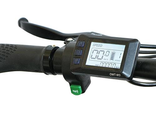 bici paseo electrica con display