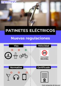 las nuevas regulaciones patinetes eléctricos